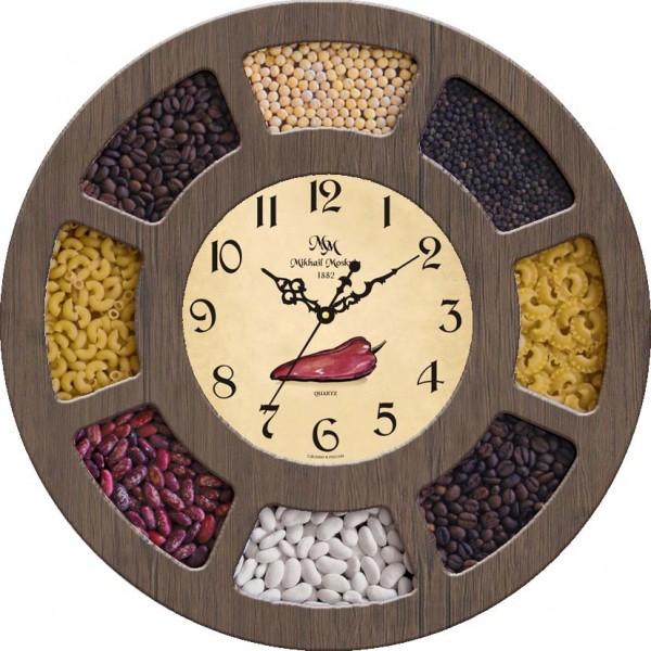 Цены и магазины настенных часов на кухню москвы.